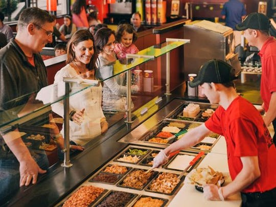 """Moe's Southwest Grill has unseated Chipotle as fast casual Mexican restaurant """"Brand of the Year,"""" according to an annual Harris Poll. (Photo: Moe's Southwest Grill)"""