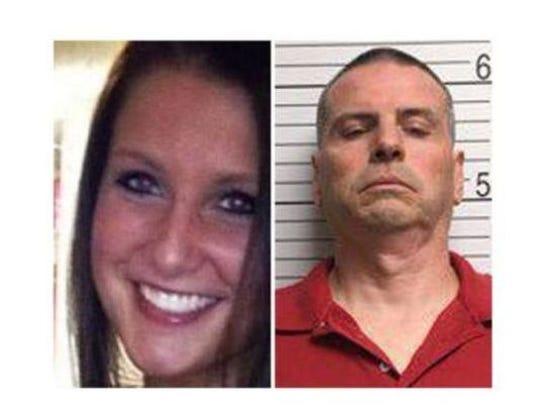 These photos show slain Indiana University student Hannah Wilson, 22, and the man accused of killing her, Daniel Messel.