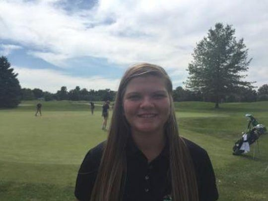 Yorktown's Reece Malapit nearly missed a double-eagle