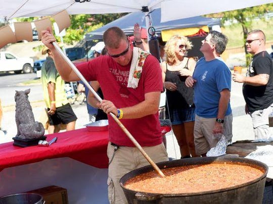 File photo of the Virginia Chili, Blues 'N Brews festival in Waynesboro.