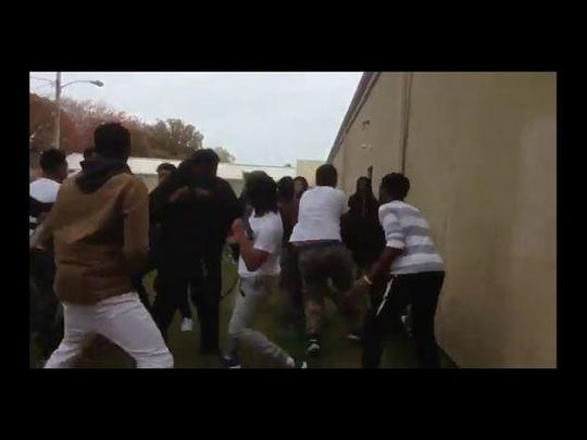 A Twitter account opened in September shows videos of numerous fights involving Neptune High School students.