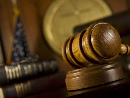 Stock image of judge's gavel.