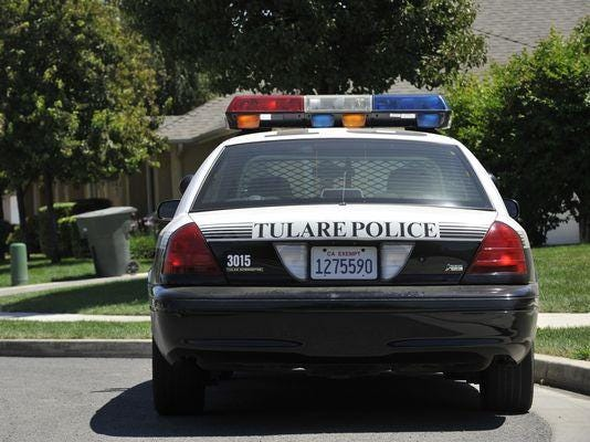 tulare-police-car