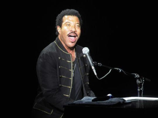 Lionel Richie performs his hits June 30 at DTE Energy.