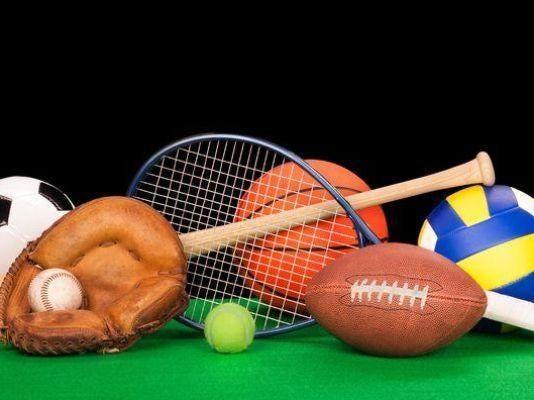 Assortment of sports