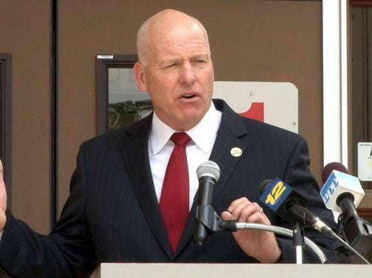 File Photo: Toms River Regional Schools Superintendent David M. Healy.