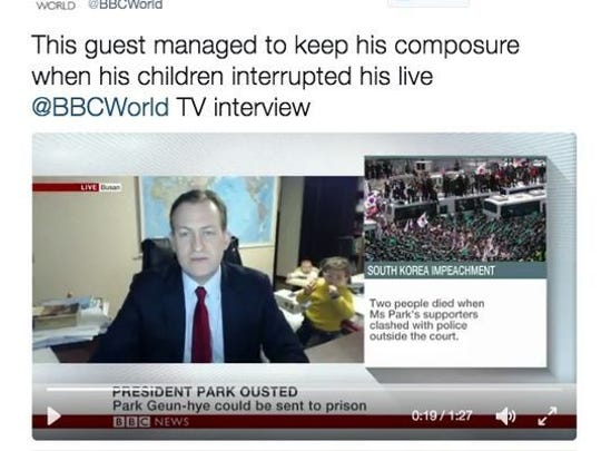 Screenshot of the BBC