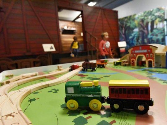 Interactive exhibits are open to families at The Children's Museum of the Upstate.