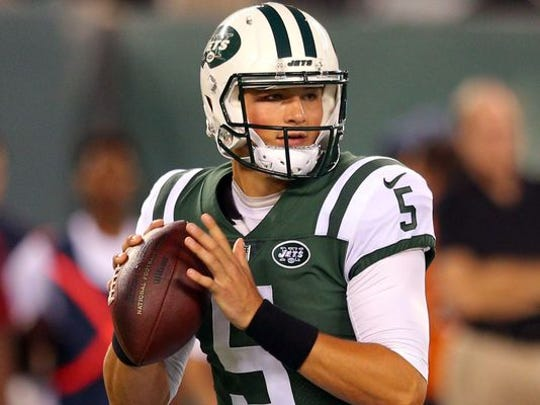 Christian Hackenberg was selected by the Memphis Express in the second round of the AAF's inaugural quarterbacks draft.