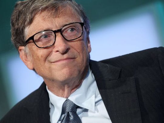 Microsoft co-founder Bill Gates. (Photo: MEHDI TAAMALLAH AFP/Getty Images)