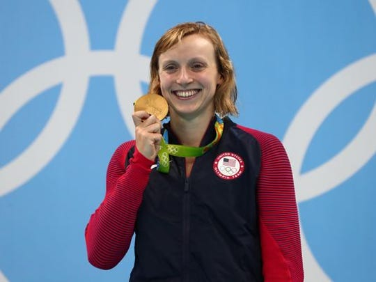 Katie Ledecky (USA) was the leader in Rio Olympic medals from Stanford with five.