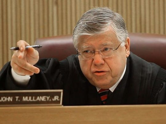 State Superior Court Judge John Mullaney Jr. i8s expected to rule next month on the state's attempts to get a defendant's cellphone records without a warrant.
