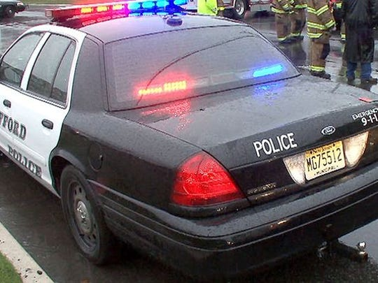A Stafford police car is seen in this 2010 file photo.