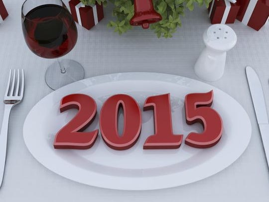 Let's look ahead at a new year in food.