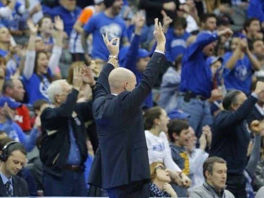 A packed crowd helped Seton Hall and coach Kevin Willard get past St. John's on Wednesday.