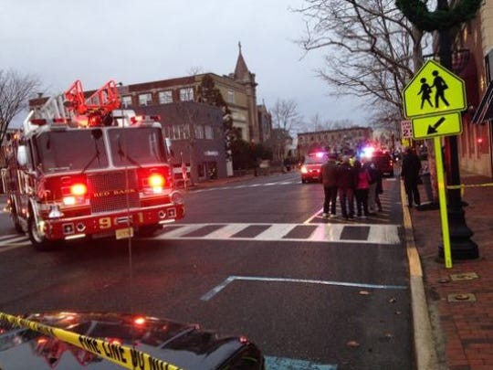 The electrical issues reported Sunday afternoon on Broad Street left more than 250 people without power and may have caused school closures, authorities said.