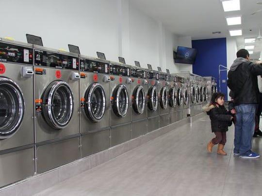 Laundry Time opened on Ocean Avenue in Lakewood last September.