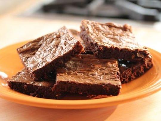 Three-ingredient brownies
