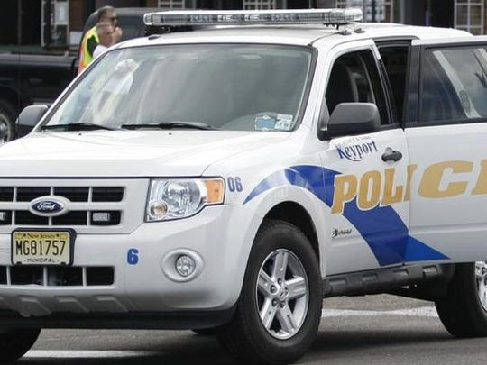 Keyport police arrested a Union Beach man Wednesday night in connection with two armed robberies involving taxi drivers earlier that day.
