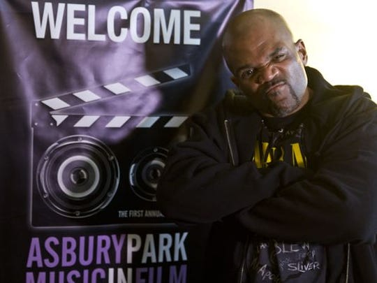 Darryl McDaniels of RUN-DMC. The Asbury Park Music in Film Festival gets underway at the Paramount Theater. The event continues the entire weekend in various locations throughout the city.