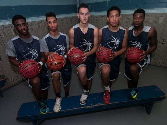 Colonia, led by a starting five of Jodrell Thompson, Chase Barneys, Pat Naguib, Brandon Haines, and J.J. Corbett, finished ranked No. 2 in the home News Tribune Top 10