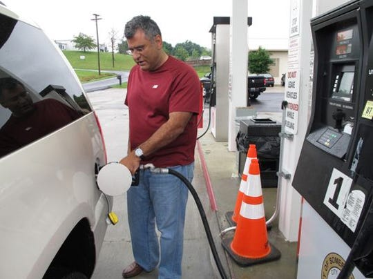 About 10 Gulf Coast refineries remained closed on Friday,