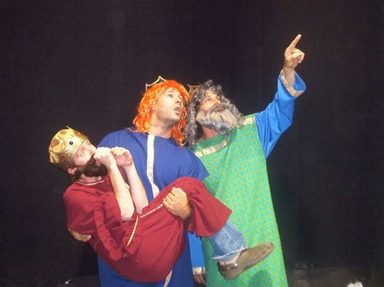 """A scene from Theatre Conspiracy's """"The Bible: The Complete"""