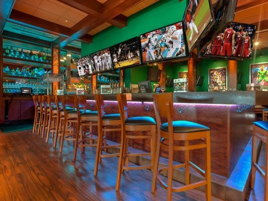 Duffy's Sports Grills feature a multitude of televisions.