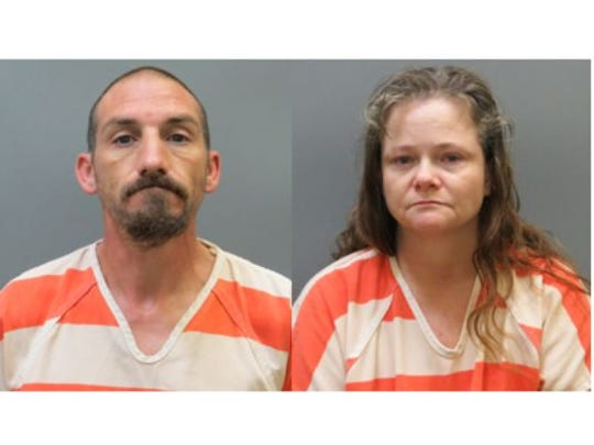 Ricky Roy House Jr. (left) and Kendra Sue Tooley.