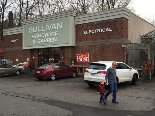 Sullivan Hardware and Garden on Dec. 23, 2014.