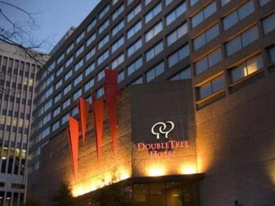 The DoubleTree by Hilton fetched the biggest price for a hotel in 2014.