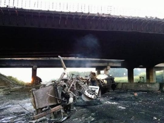 Five years ago, the explosion of a tanker truck turned the Peytonsville Road overpass into a fireball and closed the roadway over Interstate 65 for months.