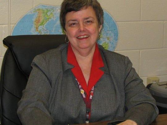 Sharron Cantrell, principal at Spring Hill Elementary School