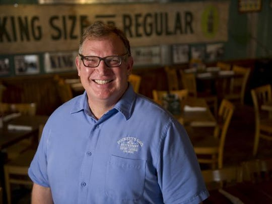 Andy Marshall opened the Franklin Puckett's Grocery and Restaurant in 2004.