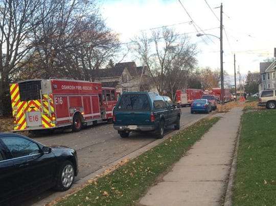 On Oct. 31, Oshkosh police blocked off several blocks