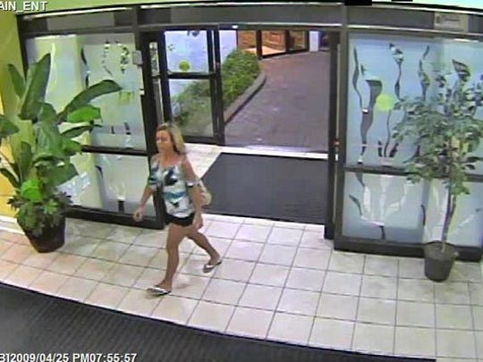 This image from surveillance video provided by the