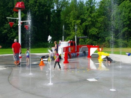 Webster spray park is among many highlights and kid-friendly places in the bustling community.