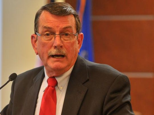During a news conference Wednesday, Wausau Mayor Jim Tipple called for the city to review its leadership structure.