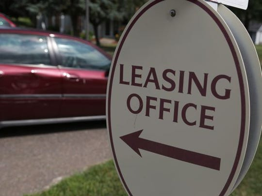 A Wausau apartment complex in a Daily Herald Media file photo from July 18, 2014.
