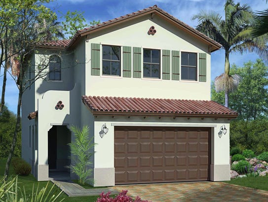 The 2,529-square-foot Doheny floor plan at Fronterra