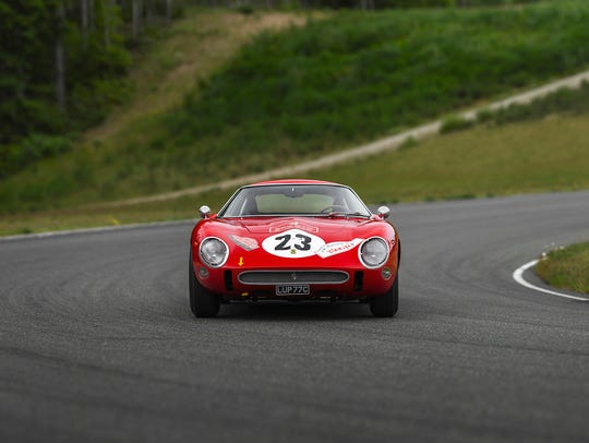 This Ferrari GTO, built in 1962, was a winner on the track and with collectors and sold for $48.4 million.