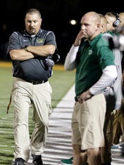 Greenwood coach Mike Campbell
