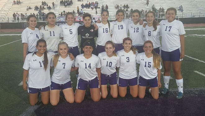 The Franklin girls soccer team was crowned District 1-6A champs.