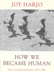 "Joy Harjo's ""How We Became Human"" is the featured book"