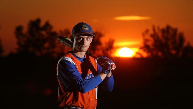 Livonia's Reid Vanscoter, the All-Greater Rochester Baseball Player of the Year.