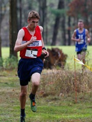 Noah Farrelly was a champion cross country runner at Binghamton High.