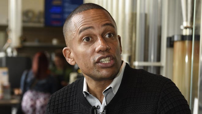 Hill Harper announces his investment in Roasting Plant coffee in downtown Detroit in May. The actor is the new owner of the iconic Charles T. Fisher mansion in Detroit's Historic Boston-Edison District.