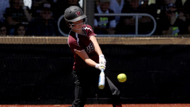 Vernon's Avery Kinney has impacted the state-bound Lady Lions at the plate, in the field and as a vocal leader.
