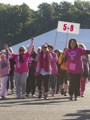 2014: 21st Annual Susan G Komen Race For the Cure at Six Flags Great Adventure on October 5, 2014.
