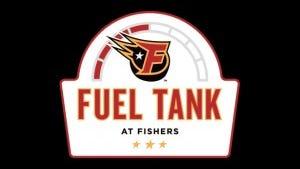 Fuel Tank at Fishers logo.